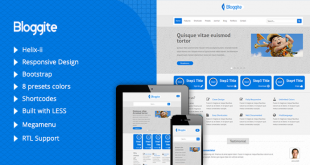 TM Bloggite Responsive Business Joomla Template