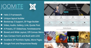 TM Joomite Responsive Business Joomla Template