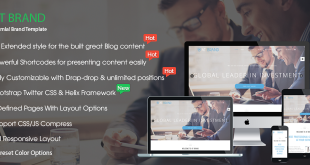 banner - AT Brand – Business Launch Joomla Template