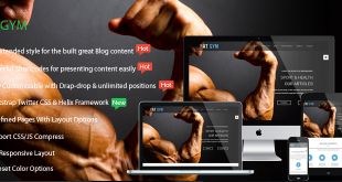banner-AT Gym – Fitness / Gym Responsive Joomla Template