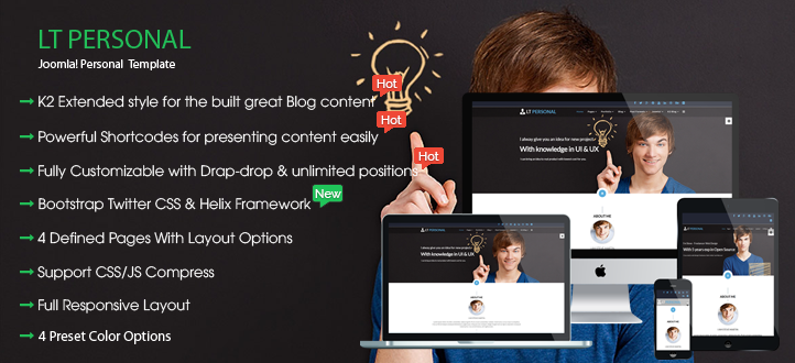 banner - LT Personal – Profile / Personal Joomla Template