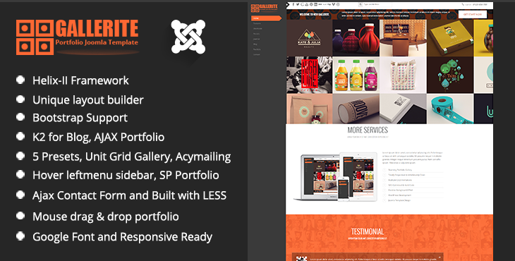 banner-TM Gallerite Draggable Grid Gallery Joomla Template