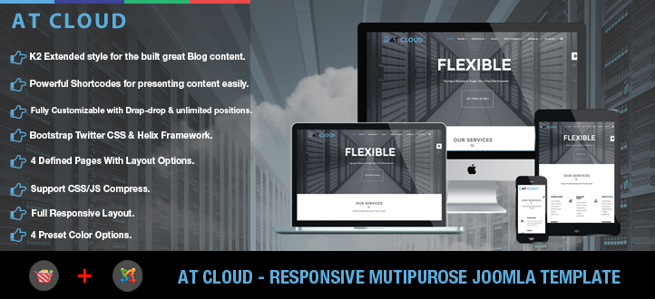 banner - AT Cloud – Free Server / Hosting Joomla template