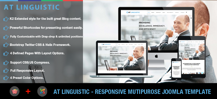 banner - AT Linguistic – Languages / Translation Joomla template
