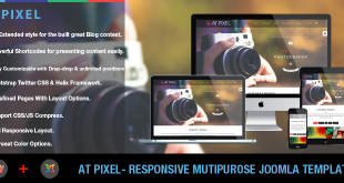 banner - AT Pixel – Photography Joomla Template
