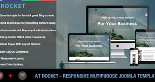 banner - AT Rocket – Image Design / Creative Joomla template