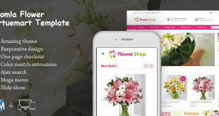 Virtuemart flower shop