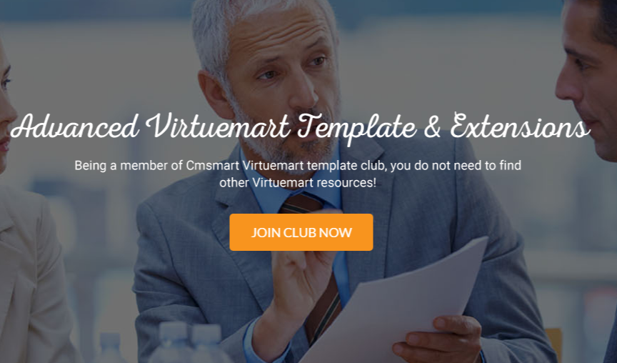 Cmsmart Virtuemart Template Club